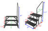 EHS-102-R - 350 lbs Stromberg Carlson RV and Camper Steps