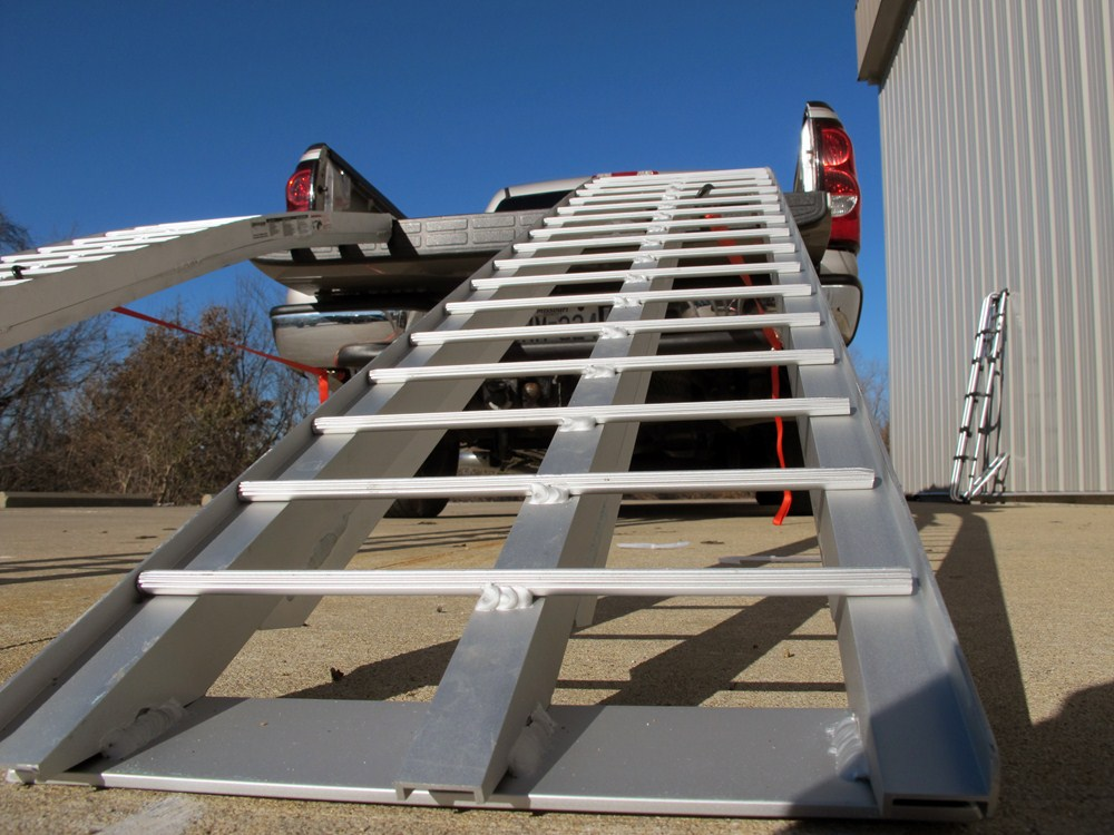 Aluminum Folding Ramps >> Erickson Arched, Aluminum Loading Ramp Set - Non-Folding ...