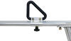 erickson ladder racks truck bed fixed height rack w/ load stops - aluminum 800 lbs