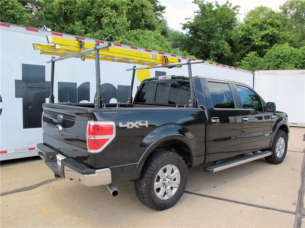 Erickson Truck Bed Ladder Rack w/ Load Stops - Steel - 800