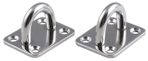 Stainless Steel Anchor Points : Compare erickson stainless vs brophy d ring tie etrailer