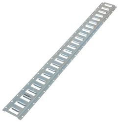 Erickson Horizontal E-Track - Zinc Coated Steel - 2,000 lbs - 4' Long - Qty 1