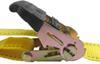 "Erickson Easy Ratchet Tie-Down Straps w/ Release Levers - 2"" x 10' - 1,333 lbs - Qty 2 6 - 10 Feet Long EM34410"