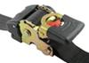 "Erickson Re-Tractable Ratchet Straps w/ Push Button Releases - 1"" x 10' - 400 lbs - Qty 2 Trailer,Truck Bed EM34415"