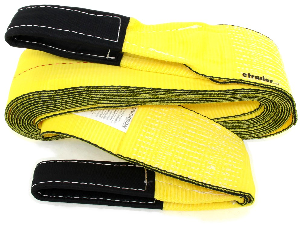 Vehicle Tow Straps : Erickson tow strap w reinforced loop ends quot