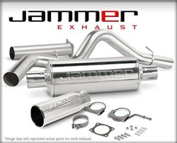 Edge Jammer Exhaust - Stainless Steel