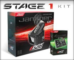 Edge Performance Kit w/ Evolution CTS2 Tuner and Jammer Air Intake - Dry Filter