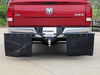 "Rock Tamers Heavy-Duty, Adjustable Mud Flap System for 2"" Hitches - Matte Black Rear Pair ERT00108 on 2009 Dodge Ram Pickup"