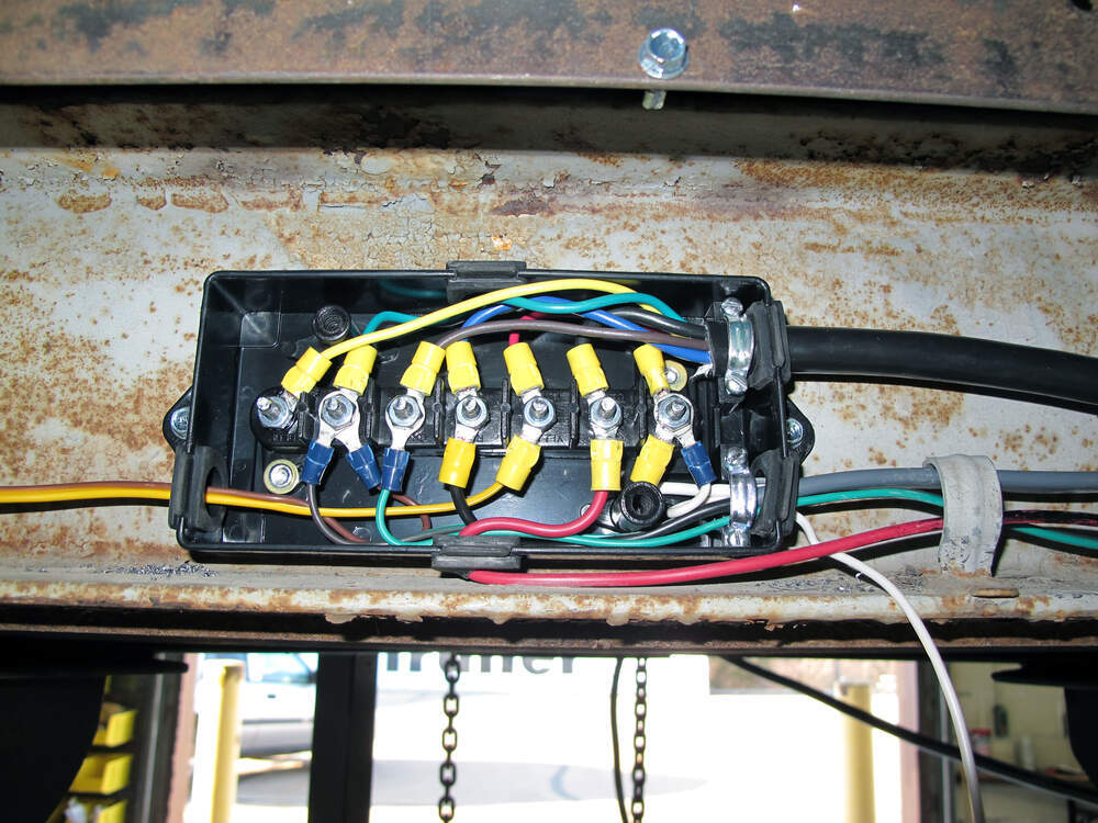 Trailer Wiring 7-Way Upgrade Kit etrailer Accessories and ... on trailer brakes, trailer plugs, trailer generator, trailer fuses, trailer hitch harness, trailer mounting brackets,