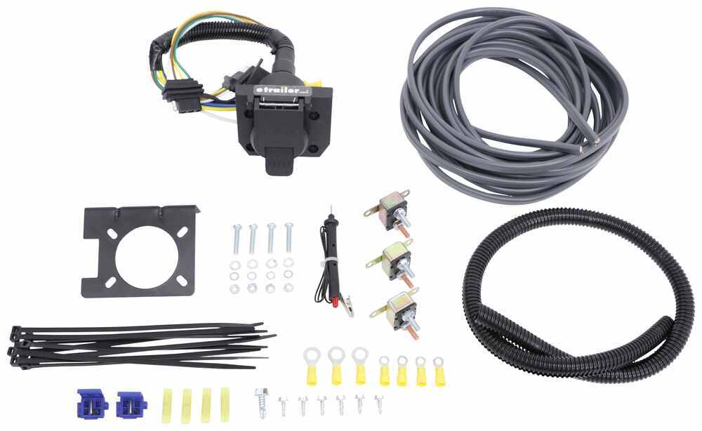 Universal Installation Kit for Trailer ke Controller - 7 ... on