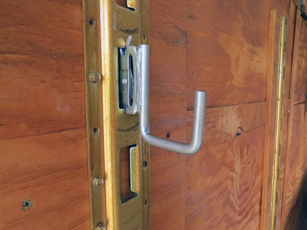 Brophy j hook for e track square galvanized zinc coat for Track hanger