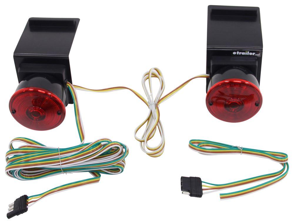 compare e z mount tow light vs heavy duty magnetic etrailer com rh etrailer com 7 Pin Tow Wiring 4 Pin Trailer Wiring Problems