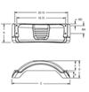 F008549 - Bracket Mount Fulton Trailer Fenders