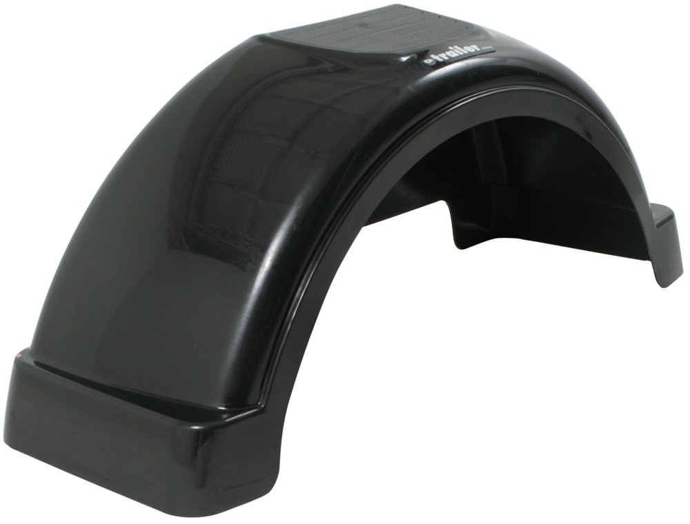 Fulton Black Trailer Fenders - F008553