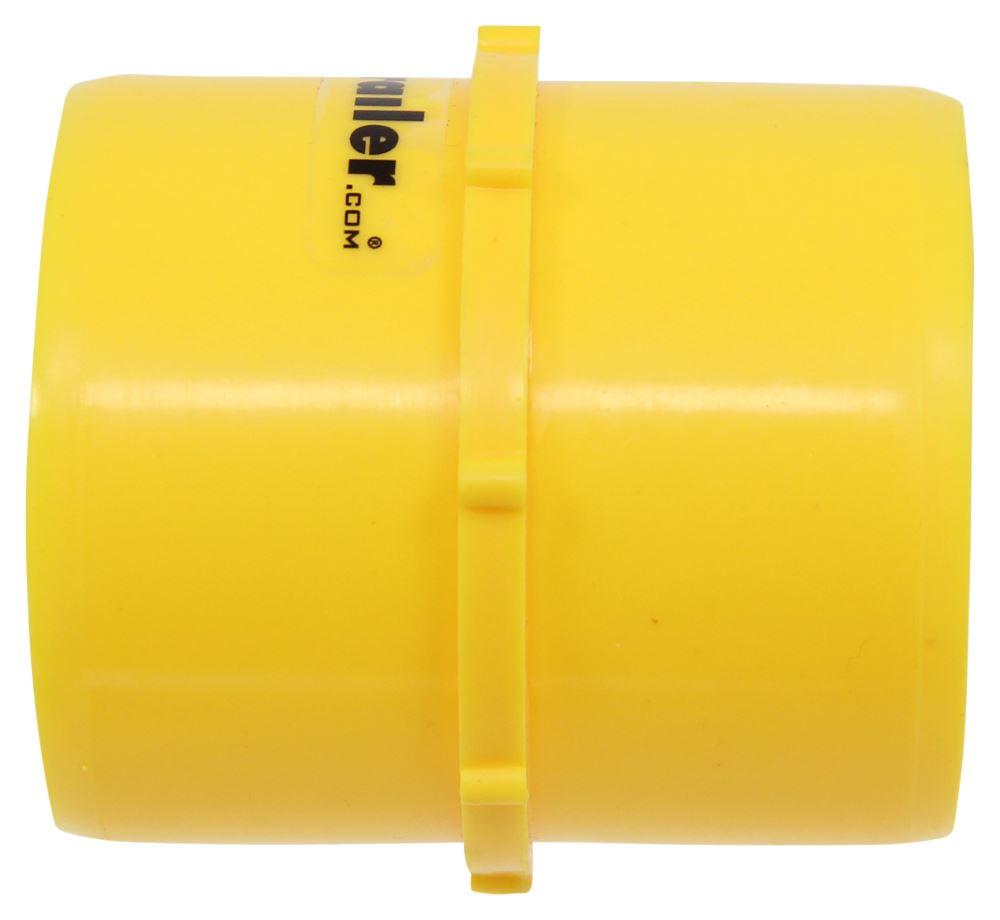 Valterra F02-2025 Yellow 3 Hose x 3 Hose Straight Hose Coupler