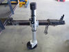 "Fulton F2 Swing-Up, Wide-Track Trailer Jack, 8"" Single Wheel, Sidewind, Bolt-On - 1,600 lbs With Wheel F1413040134"