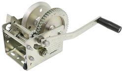 Fulton High-Performance 2-Speed Trailer Winch - Cable Only - Zinc - 3,200 lbs