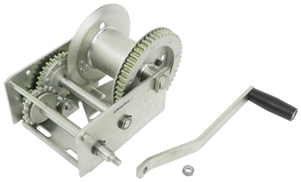 Boat Winch Crank Handle 1000 Lb Capacity Hand Winch