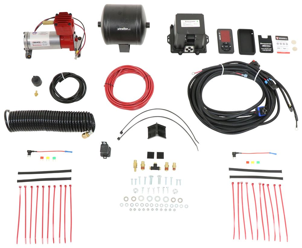Air Suspension Compressor Kit F2591 - Digital Display - Firestone
