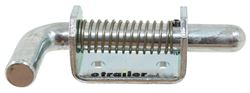 Paneloc Heavy Duty Spring Latch with Handle - 2 Hole - Zinc Plated Steel