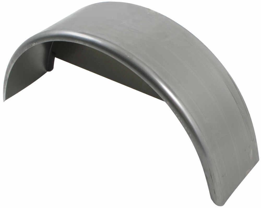 Trailer Fenders With Backing Plate : Compare pre cut fender vs single axle trailer etrailer