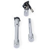 Fastway Trailer Hitch Lock and Adjustment Pin Lock Set for Flash E Series Ball Mounts Steel FA86-00-3660