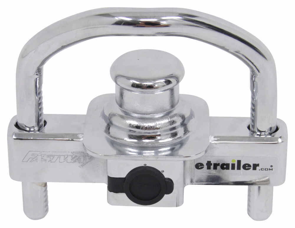 """Fastway Universal Trailer Coupler Lock for 1-7/8"""", 2"""" and 2-5/16"""" Couplers Universal Application Lock DT25013KA"""