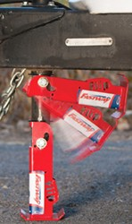 "Fastway Flip Automatic Fold-Up Jack Foot for 2-1/4"" Jacks - 6"" Extension - 1,400 lbs"