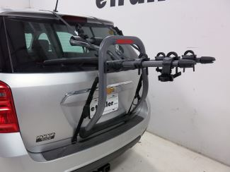 4-Strap trunk-mounted bicycle carrier