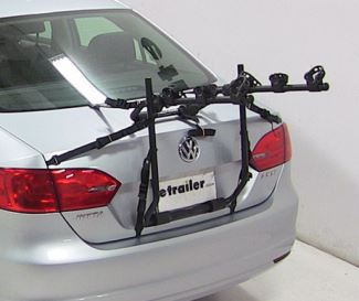 6-Strap trunk-mounted bicycle carrier