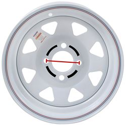 4 On Trailer Wheel