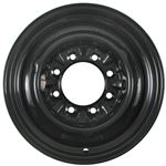 Conventional 8 on 6-1/2 trailer wheel