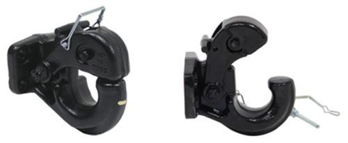 Trailer Hook 2-Inch Ball Combo Pintle Long Shank 10,000lbs Capacity Pintel Hitch