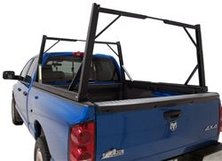 Tonneau Cover Ladder Rack Installed