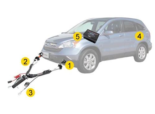 For 2002-2004 Honda Crv Cr-V Front Bumper Reinforcement Impact Bar