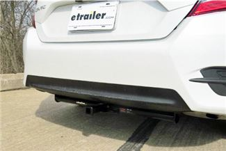 Class I Curt Trailer Hitch On Honda Civic