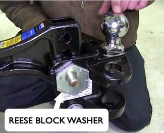 Reese Block Washer Weight Distribution Hitch