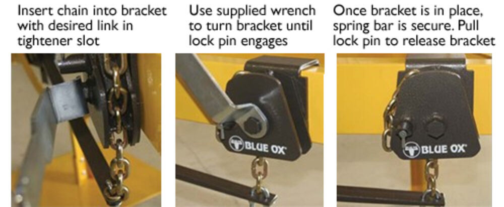Blue Ox SwayPro Weight Distribution Auto-Locking Brackets