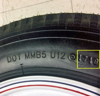 Trailer Tire DOT Age Code