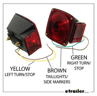 Trailer Light Wiring Colors