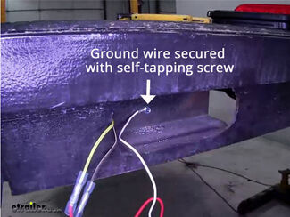 Trailer Wiring Ground Connection