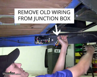 Trailer Junction Box - Remove Wiring