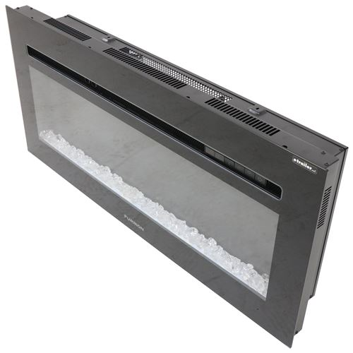 Furrion 40 Quot Electric Fireplace W Crystals Recessed