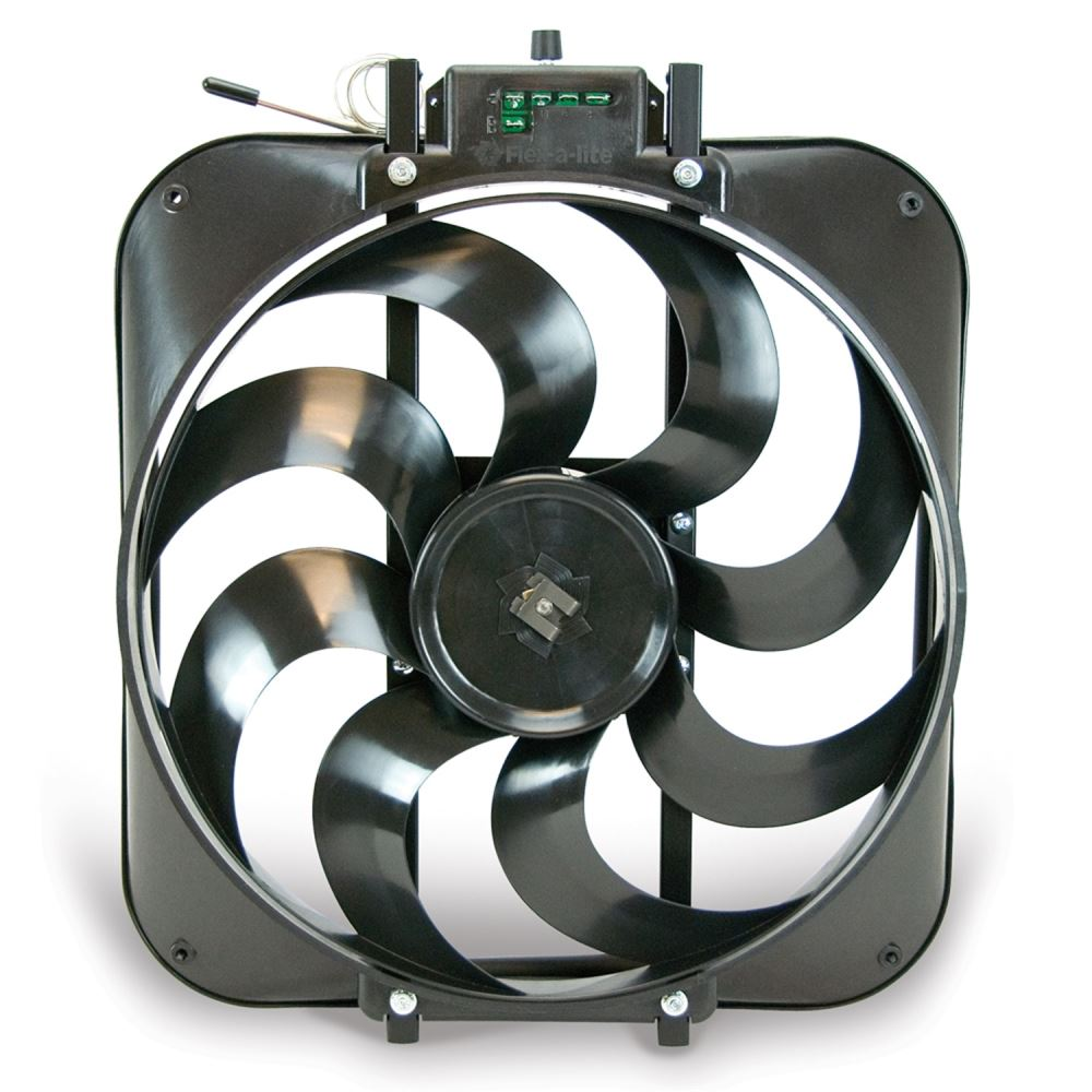 Flex A Lite 15 Quot Black Magic Electric Radiator Fan W