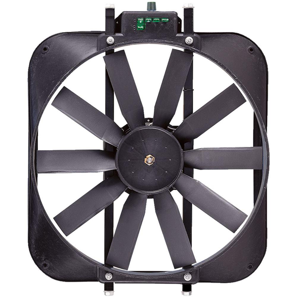 Electric Radiator Fan : Flex a lite quot electric radiator fan with shroud