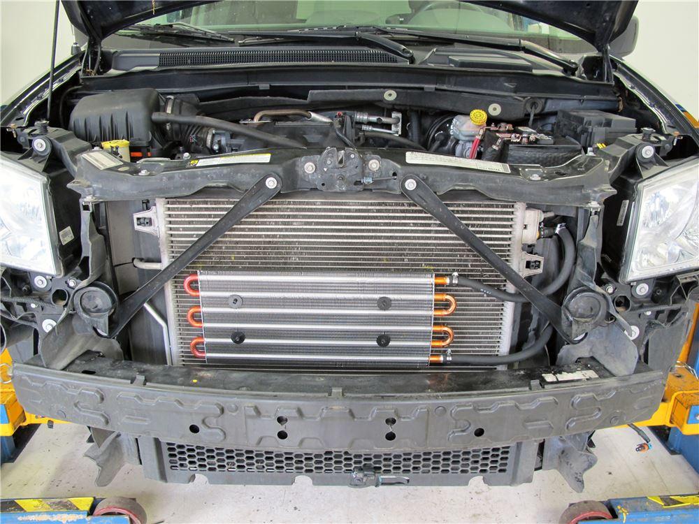 hayden transmission cooler installation instructions