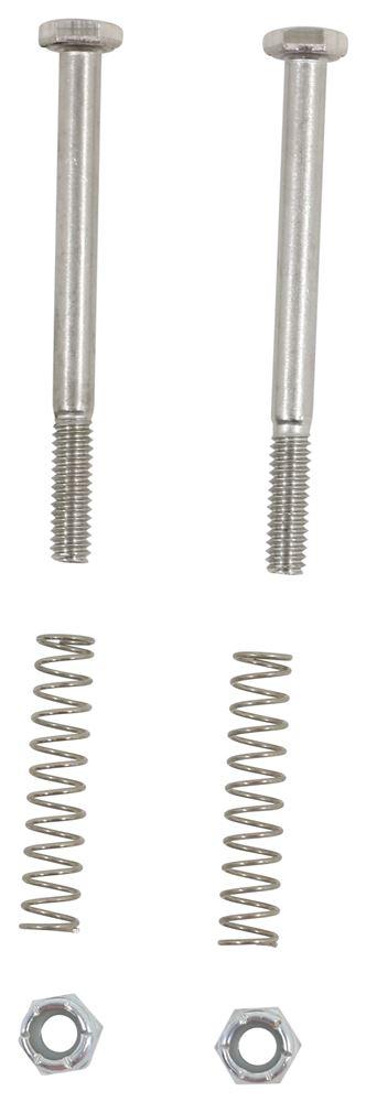 Lend-a-Hand Folding RV Handrail Satin Metal