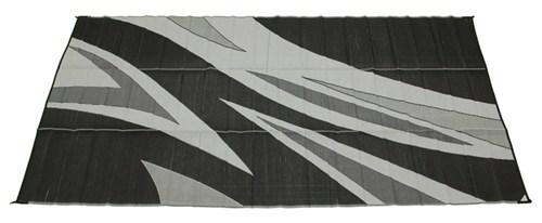Faulkner RV Mat - Summer Waves - Black and White - 8u0027 x 16u0027 Faulkner Patio Accessories FR46258  sc 1 st  eTrailer.com & Faulkner RV Mat - Summer Waves - Black and White - 8u0027 x 16u0027 Faulkner ...
