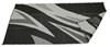 Faulkner RV Mat - Summer Waves - Black and White - 8' x 16' Black/White FR46258
