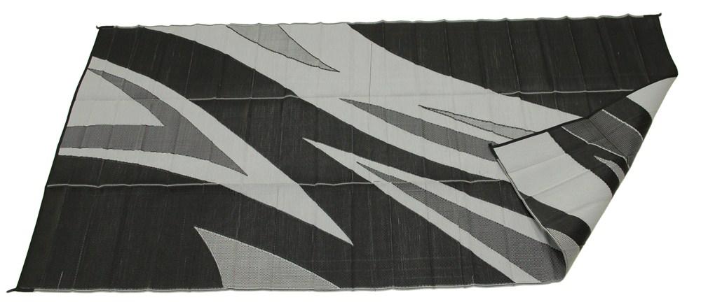 Faulkner Rv Mat Summer Waves Black And White 8 X 20